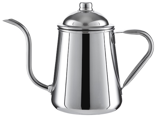 Olive Kube Coffee drip kettle front view